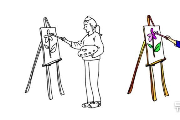 [해봤습니다] '곰손'인 저, '금손' 될 수 있을까요? 색칠 다 해주는 '네이버 웹툰 AI 페인터'